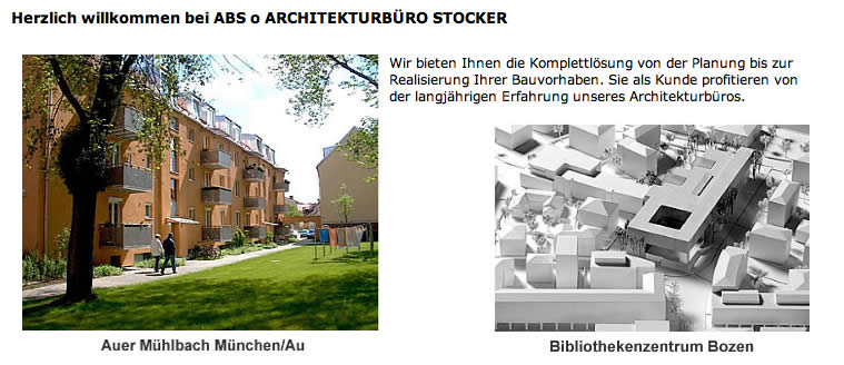 ABS o. Architekturbüro Stocker